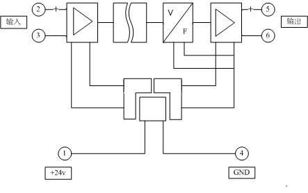 二线制4-20ma仪表隔离配电器hd03