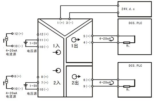 hd221双路信号隔离器