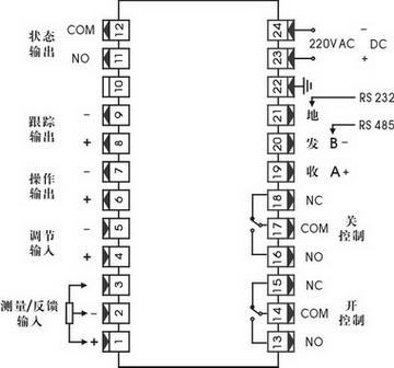 坚式仪表接线图